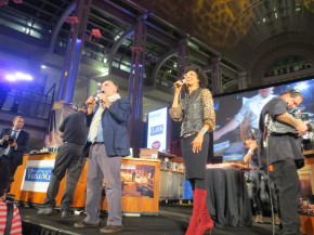 Captial Food Fight hosts Jose Andres and Carla Hall