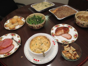 The He Said She Said Experience Thanksgiving- A Review of Dinner Done! and Cupcaked